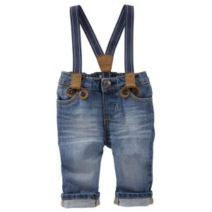 SUSPENDER JEANS – DERBY WASH