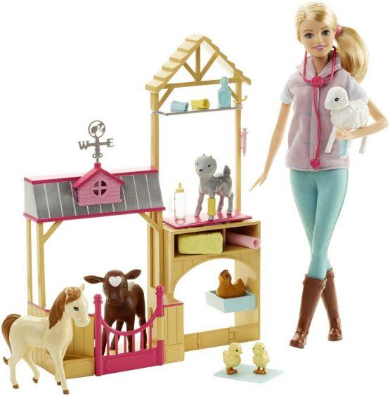 Barbie Doll Farm Vet
