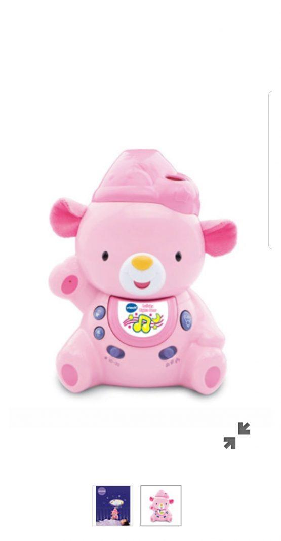 VTech Lullaby Lights Bear Pink