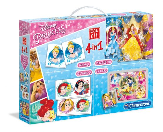 Clementoni Edukit 4 in 1 – Princess