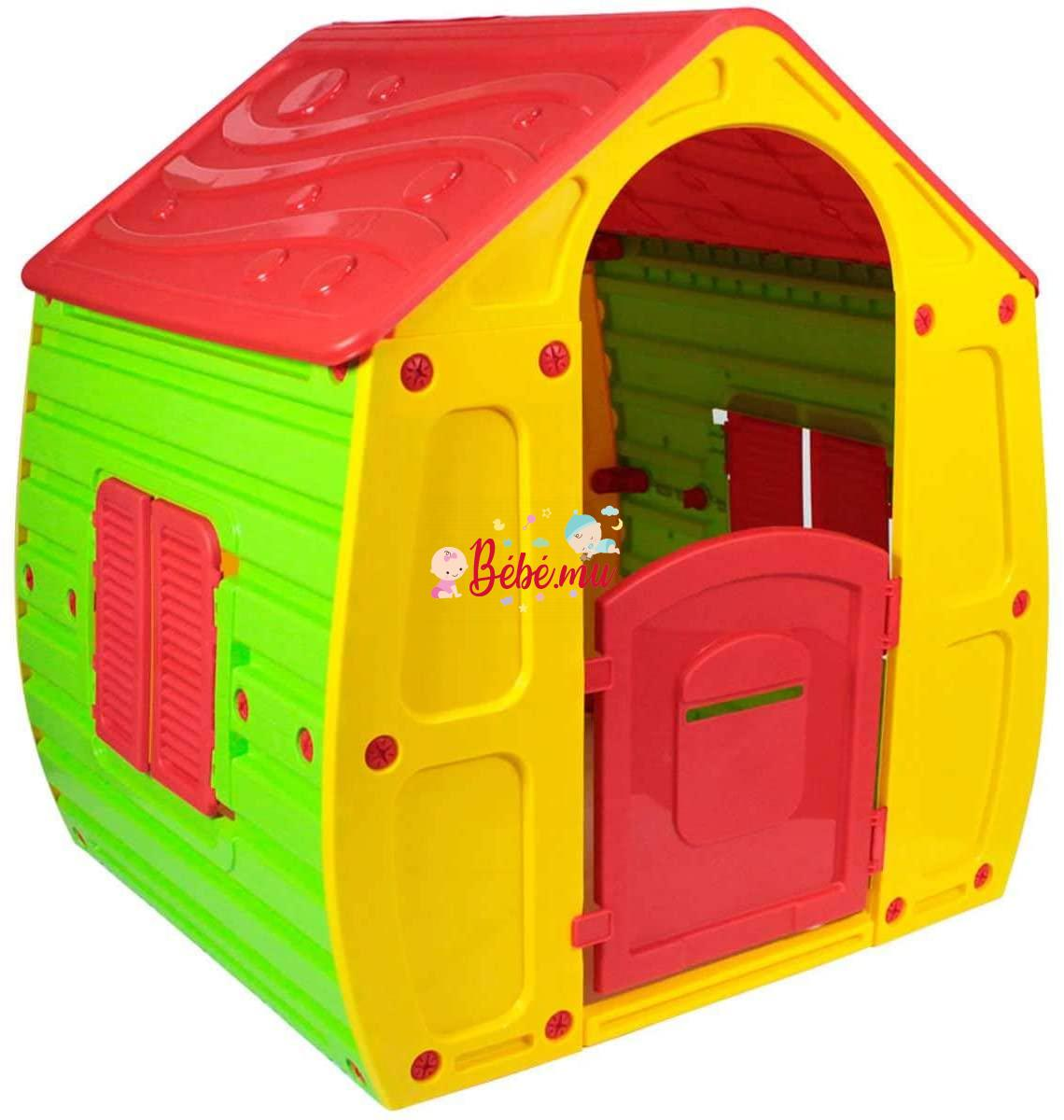 Cabane Magical House Yellow/Red