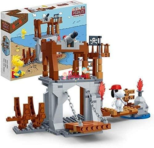 BanBao Snoopy Pirate Watchtower
