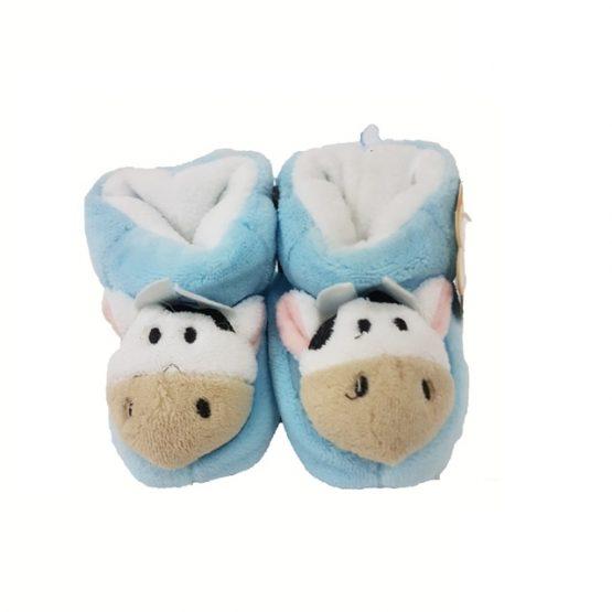 Pantouffles Montantes Eskimo Vache