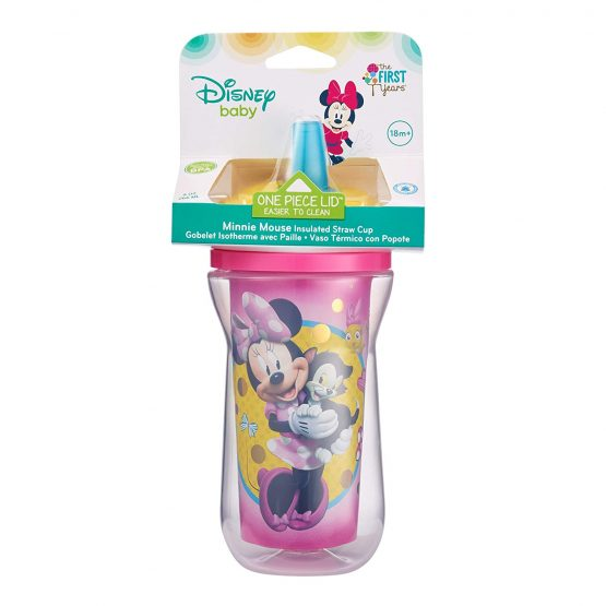 First Years Minnie Mouse Insulated Straw Cup 18m+