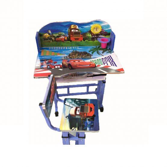 Set de Bureau Enfant + Chaise Cars
