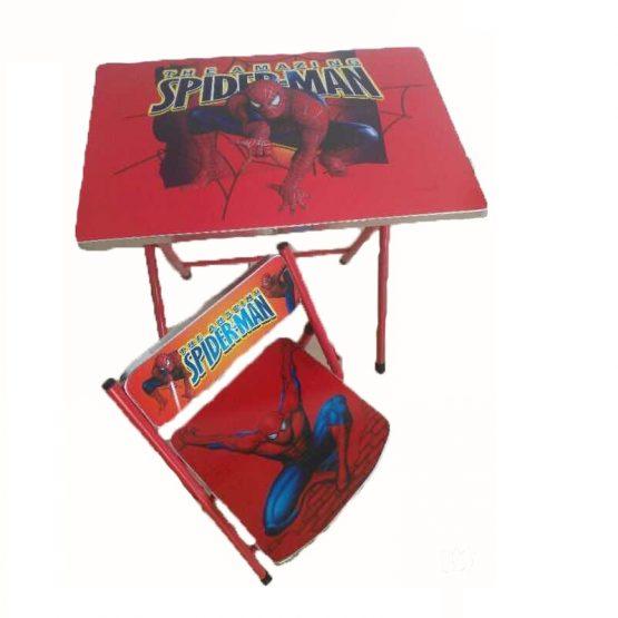 Set Pliable de Table Enfant + Chaise Spiderman