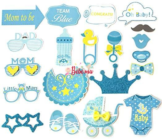 Photo Booth Accessories – It's a Boy !