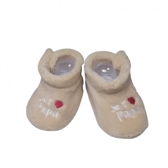 Chaussons/Pantoufles Eskimo – Je t'❤ Papa