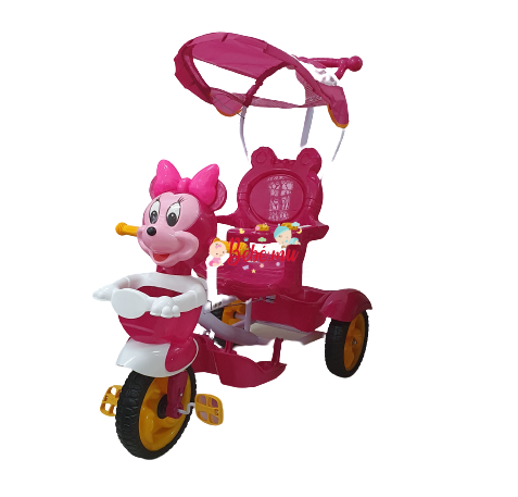Tricycle Minnie Avec Canopy