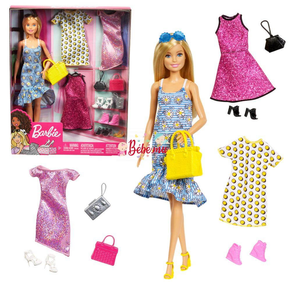 Barbie Doll and Party Fashions