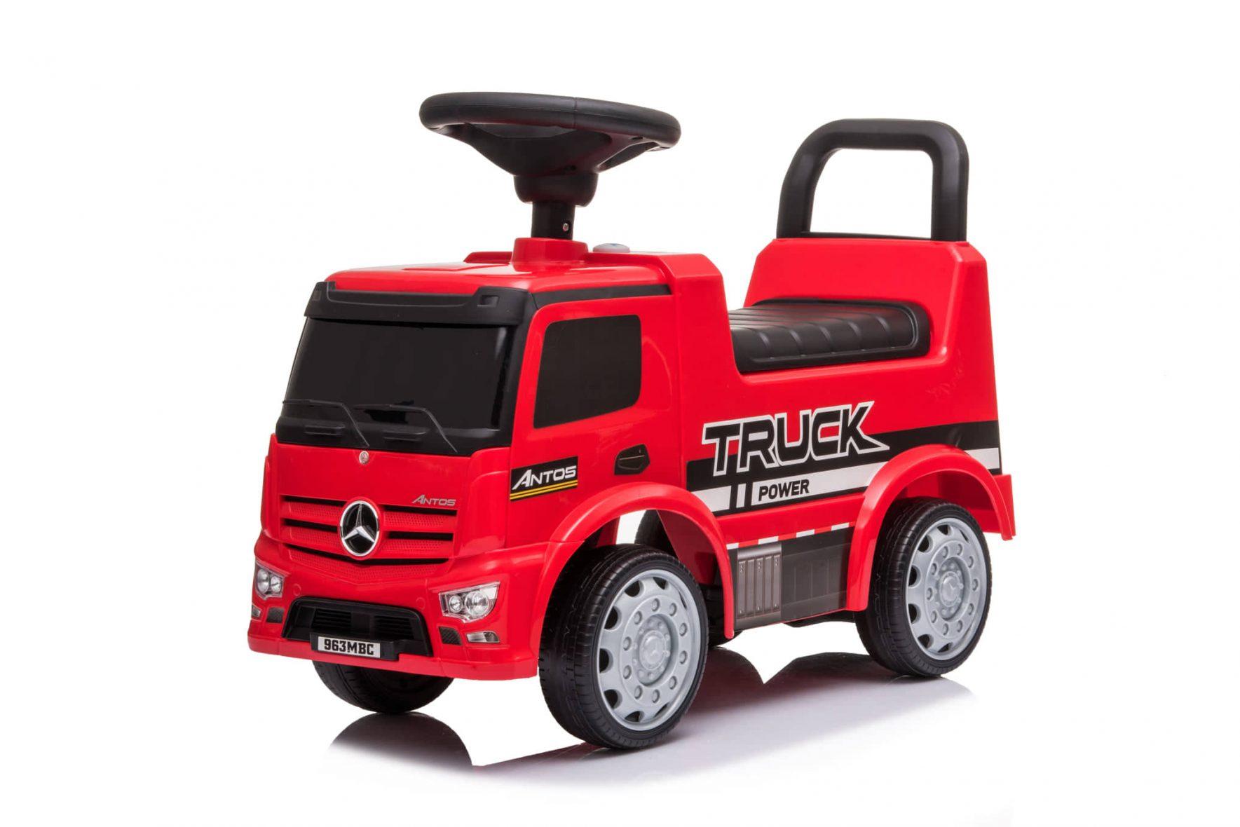 Auto Trotteur Mercedes-Benz Truck Red