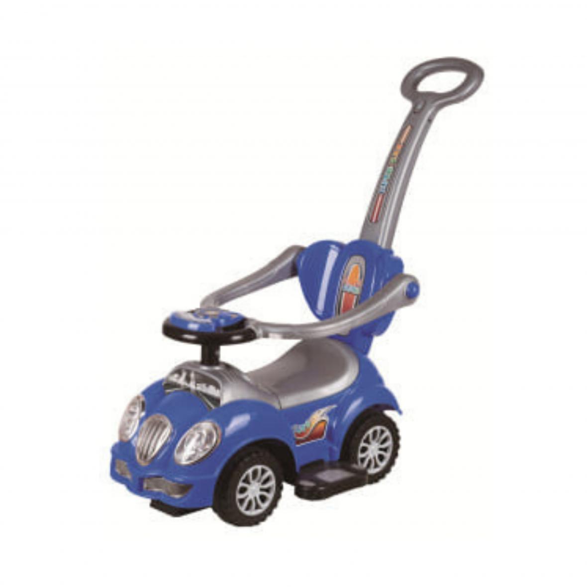 Auto Trotteur Cute avec Manche Blue